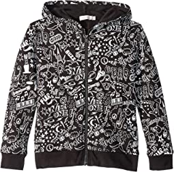 Joplin All Over Printed Zip-Up Hoodie (Toddler/Little Kids/Big Kids)