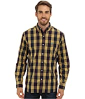 U.S. POLO ASSN. - Button-Down Plaid Poplin Sport Shirt
