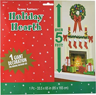 amscan Hearth Scene Setters Add-Ons Christmas Accessory | Plastic