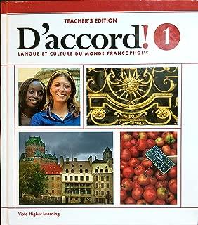 Daccord 2015 Level 1 Teacher Edition