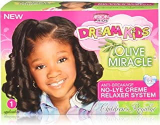 African Pride Dream Kids Olive Miracle Relaxer Regular, 1count