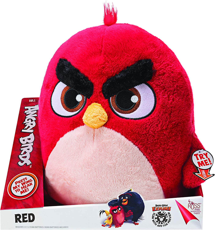 Angry Birds ANB0039 Funktion Plüsch,: Amazon.de: Spielzeug