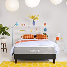Nectar Queen Mattress + 2 Pillows Included - Gel Memory Foam Mattress - CertiPUR-US Certified Foams - 180 Night Home Trial - Forever Warranty