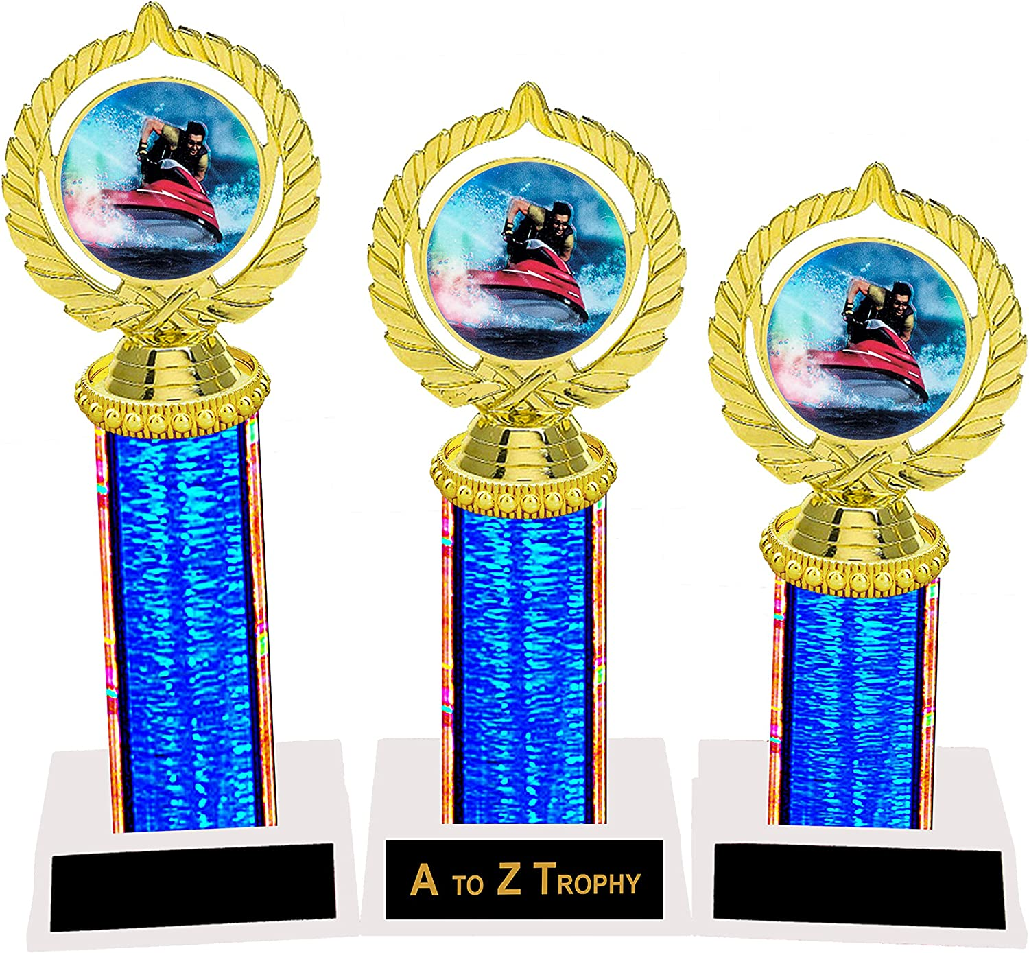 Trophies Wave Runner 1st 2nd 3rd Jet Place Racin Race Ski Trophy Boston Mall Rapid rise