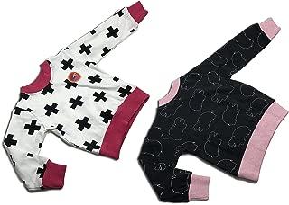 Michael's Originals 中性款幼儿 2 件套运动衫(3 岁,河马粉色)
