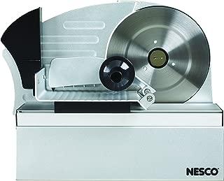 NESCO FS-10, Food Slicer, Silver, 9.8 inch Stainless Steel Blade, 200 watts