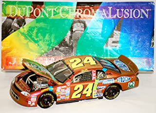 DuPont 1998 - Action / NASCAR 50th Anniversary - RCCA - Jeff Gordon #24 - Chevy Monte Carlo Bank Chromalusion - Very Rare - 1:24 Scale Diecast - 1 of 10,000 - Limited Edition - Collectible