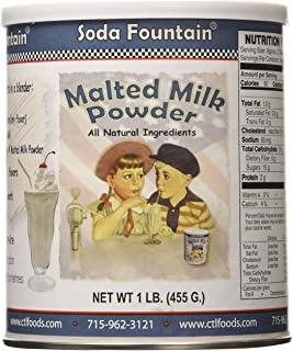Soda Fountain Soda Fountain Malted Milk Powd