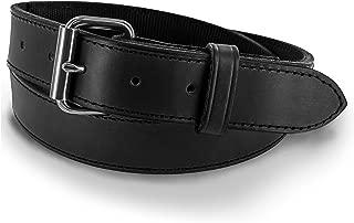 Hanks Kydex Belt - KYDEX Reinforced Gun Belt - Ultimate Support Leather Belt Without Bulk - USA Made - 1.5