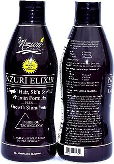 Nzuri Elixir - Liquid Hair Vitamin Plus Growth Stimulants - 64 Ounces