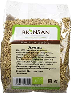 comprar comparacion Bionsan Avena Sativa en Grano Ecológica - 6 Bolsas de 500 gr - Total: 3000 gr
