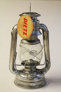 Dietz Original #76 Oil Lamp Burning Lantern - Galvanized