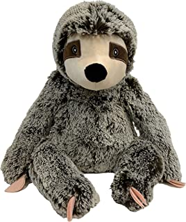 "Jumbo Sitting Sloth - 14"" Dog Toy"