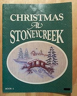 Christmas At Stoneycreek Cross-Stitch Patterns, Book 5