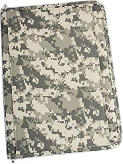 Xtitix Military Digital Camouflage Poly Zipped Padfolio Writing Folder, Camo