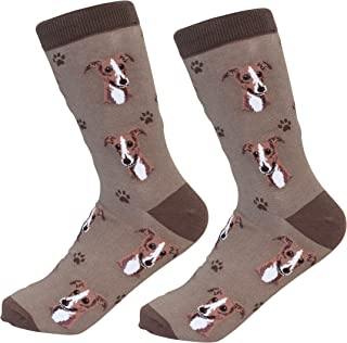 Greyhound Socks - Soft Combed Cotton - One Size Fits Most