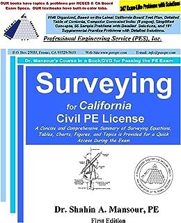 Surveying Workshop DVDs Package for California Civil PE License