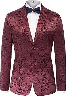 Men's Stylish Slim Fit Luxury Jacquard Suit Blazer