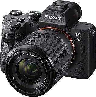 ソニー ミラーレス一眼 α7 III ズームレンズキット FE 28-70mm F3.5-5.6 OSS ILCE-7M3K, ブラック【追いかける瞳AFで撮り逃さない】
