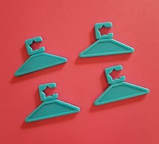 Barbie® Accessories HANGERS - 4 VINTAGE Blue Hi Hi Puffy AmiYumi® Hangers