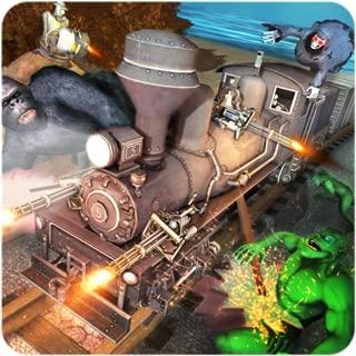 Uphill Sniper 3D: Monster Shooting Train Game