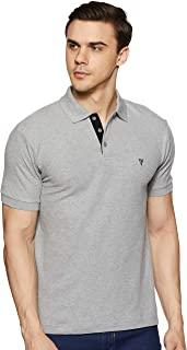 Van Heusen Athleisure Men's Solid Regular fit Polo