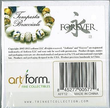 art form llc Amazon.com : ArtForm Gift Boxed Forever Bracelet - Tempesta