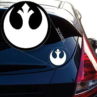 star wars rebel car decal