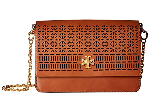 Tory Burch Kira Perforated Shoulder Bag Classic Tan Eastbay Cheap Price Ty32PbzXdc