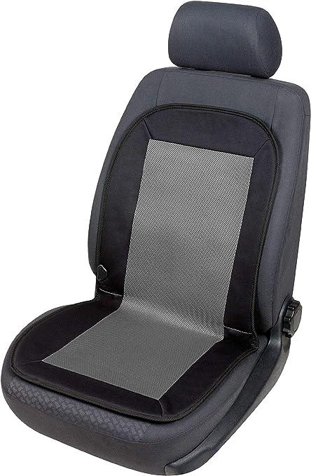 Walser Auto Sitzauflage Mit Sitzheizung Heizkissen Carbon Plus Beheizbarer Autositzaufleger Schwarz Grau 16762 Auto
