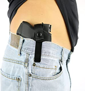 ComfortTac Concealed Carry Holster | Carry Inside The Waistband IWB or Outside The Waistband OWB | Size 3 Fits Glock 26, 27, 30, 43, M&P Shield 9mm.40.45 Auto, Ruger LC9, LC380, and Similar Guns