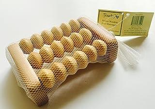 Wooden Foot Roller Reflexology Massager Tool for Stress Relief