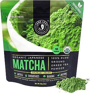 Jade Leaf Organic Matcha Green Tea Powder - Authentic Japanese Origin (1.06 Ounce)