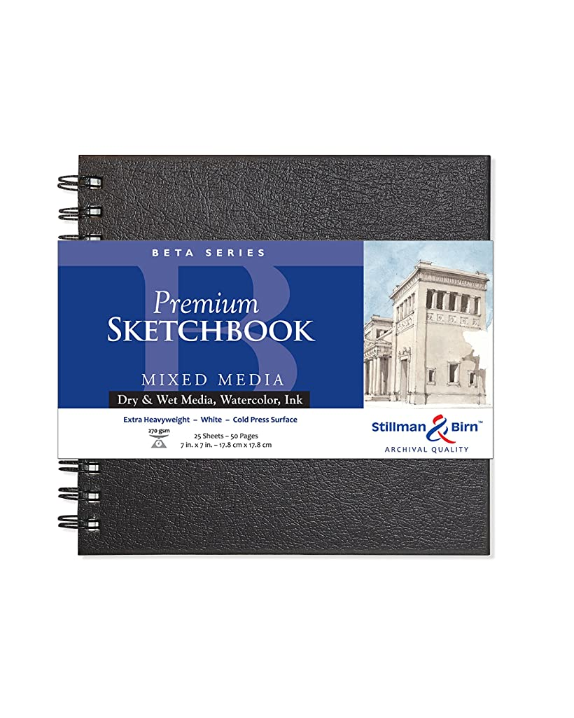Stillman & Birn Beta Series Wirebound Sketchbook, 7