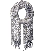 Vince Camuto Paisley Menswear Scarf