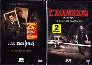 Cold Case Files : The Most Infamous Cases , Steven Seagal Lawman : Complete Season One : 2 Pack : 4 Disc Set - Over 10 Hours