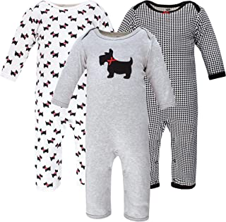 Hudson Baby Kombinezon dziecięcy Uniseks - niemowlęta Hudson Baby Unisex Baby Cotton Coveralls, Scottie Dog