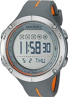 Armitron Sport Men's Digital Chronograph Resin Strap Watch