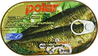 MW Polar Herring, Smoked in Vegetable Oil, 6.7-Ounce