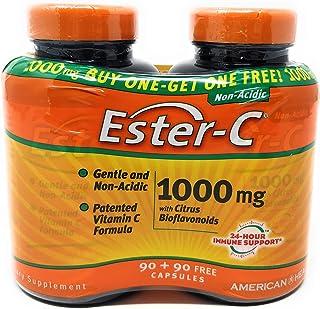 Ester C With Bioflavonoids Bogo 1000 mg - 180 Caps Total