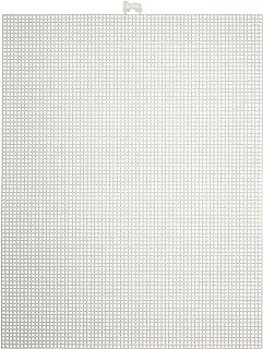 Darice Plastic Canvas White, 10 x 13 Inch, 10 x 13-Inch