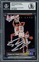Shaquille O'Neal Autographed 1992-93 Rookie Card #1B Orlando Magic Beckett BAS #11302379 - Upper Deck Certified