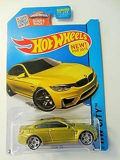 Hot Wheels, 2015 HW City, BMW M4 [Gold] Die-Cast Vehicle #24/250 by Hot Wheels
