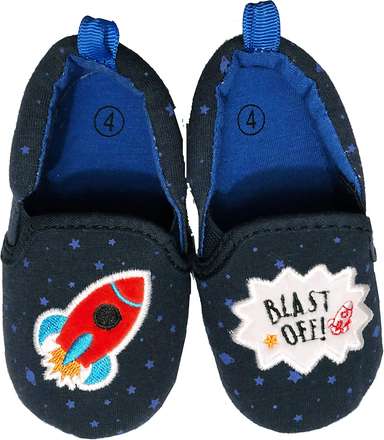 Baby Manufacturer regenerated product Boys Spaceship Shark Fireman Slip Sneakers Casual Desig Max 68% OFF on
