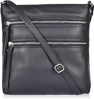 Sponsored Ad - Genuine Leather Crossover Bags for Women Crossbody Long Slim Slings for Women