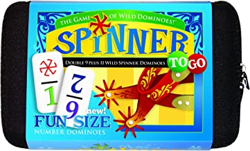 Spinner To Go, Number Dominoes
