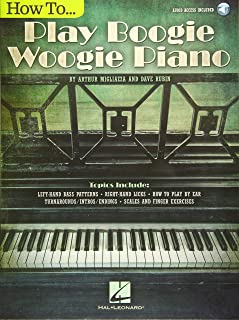 How To Play Boogie Woogie Piano (Book/Audio) (CLAVIER)