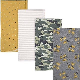 Gerber 4 Pack Flannel Blankets Tiger