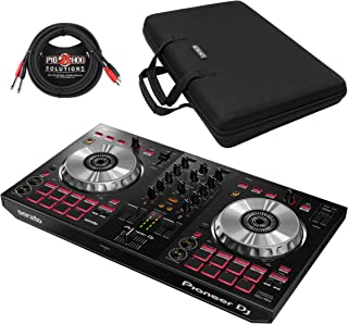 Pioneer DDJ-SB3 2-Channel Serato DJ Controller & Pig Hog Cable (With Case)