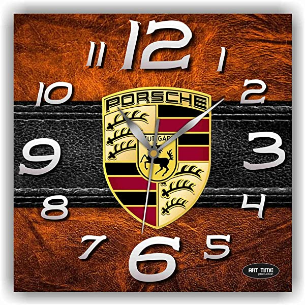 Shyleonmagaz Exclusive Clock Porsche Unique Item For Home And Office Original Present For Every Occasion